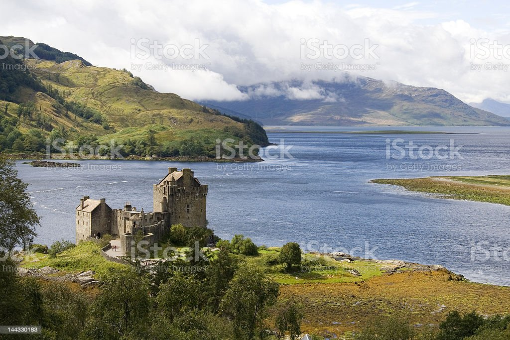 Eilean Donan castle royalty-free stock photo