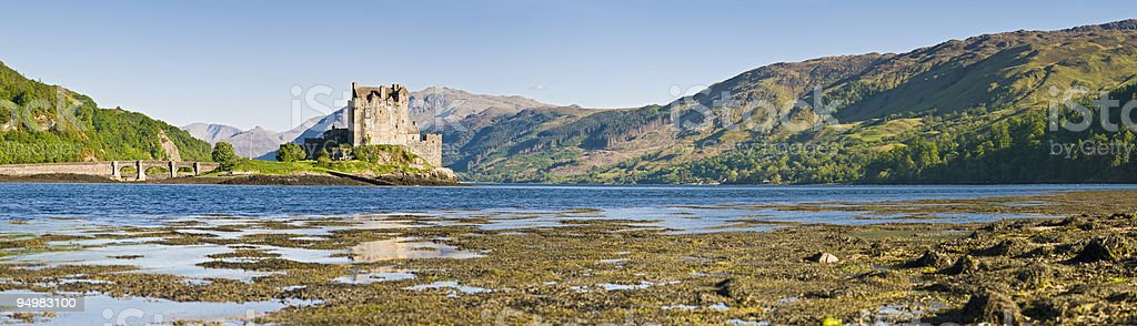 Eilean Donan castle Scotland royalty-free stock photo