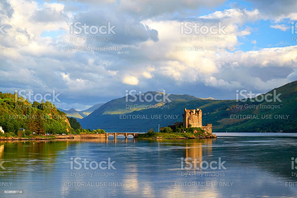 Eilean Donan In Scotland stock photo