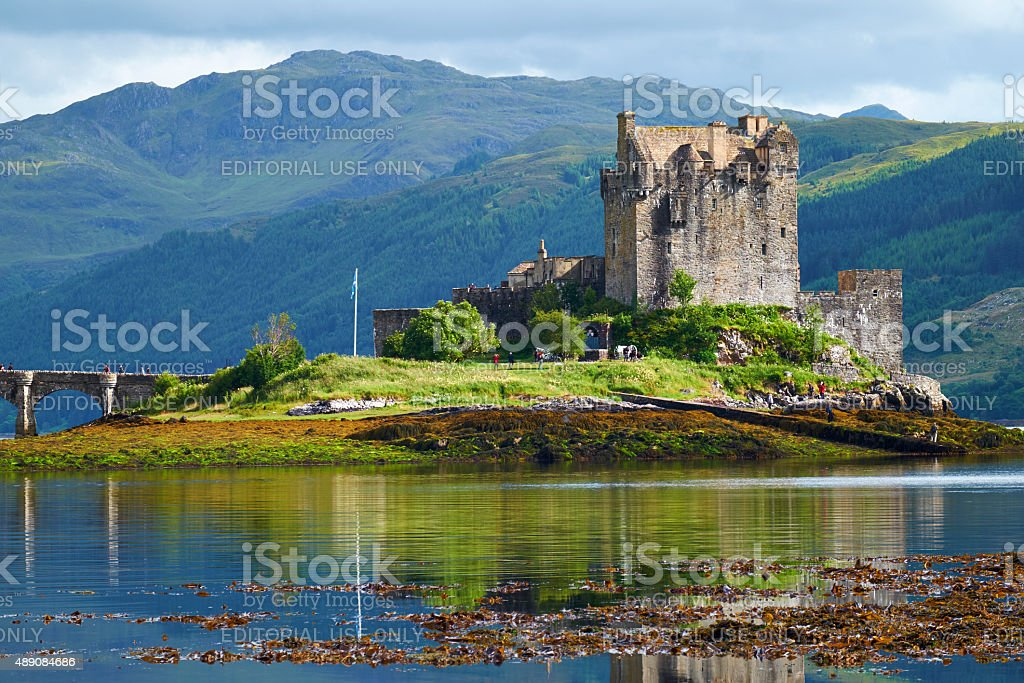 Eilean Donan In The Afternoon Sun stock photo