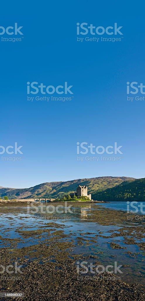 Eilean Donan Loch Duich Scotland royalty-free stock photo