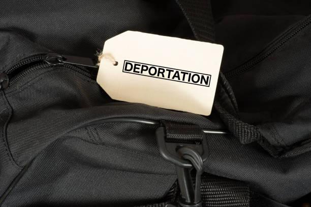 Ein Reisekoffer Und sterben Abschiebung – Foto