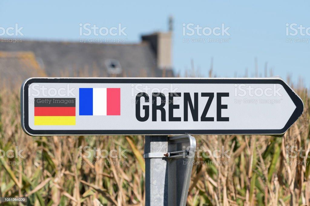 Frankreich Deutschland Grenze