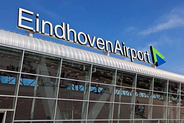 Eindhoven Airport stock photo