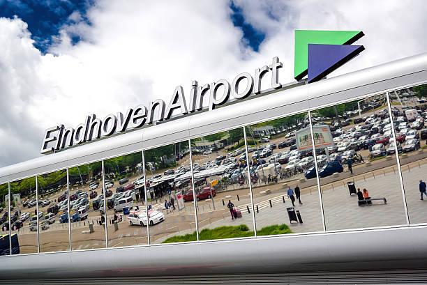 eindhoven airport - eindhoven city stockfoto's en -beelden