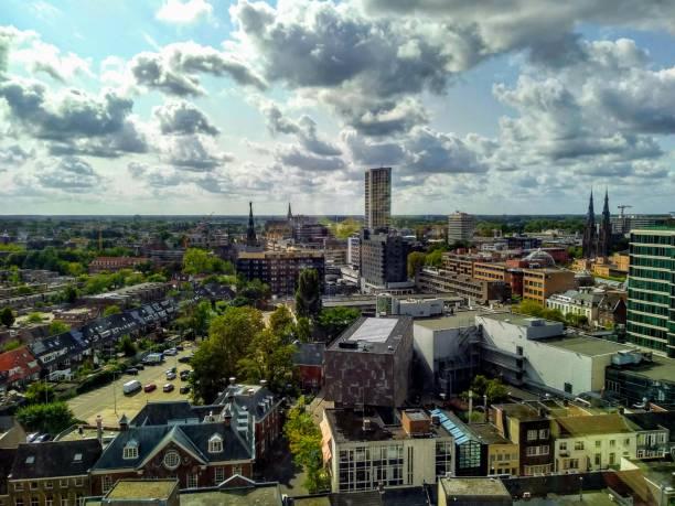 eindhoven centrum - eindhoven city stockfoto's en -beelden