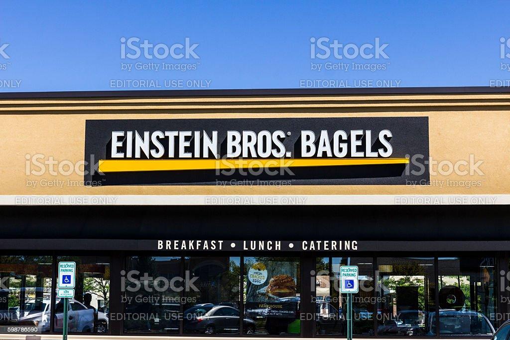 Einstein Bros. Bagels Quick-Casual Restaurant I stock photo