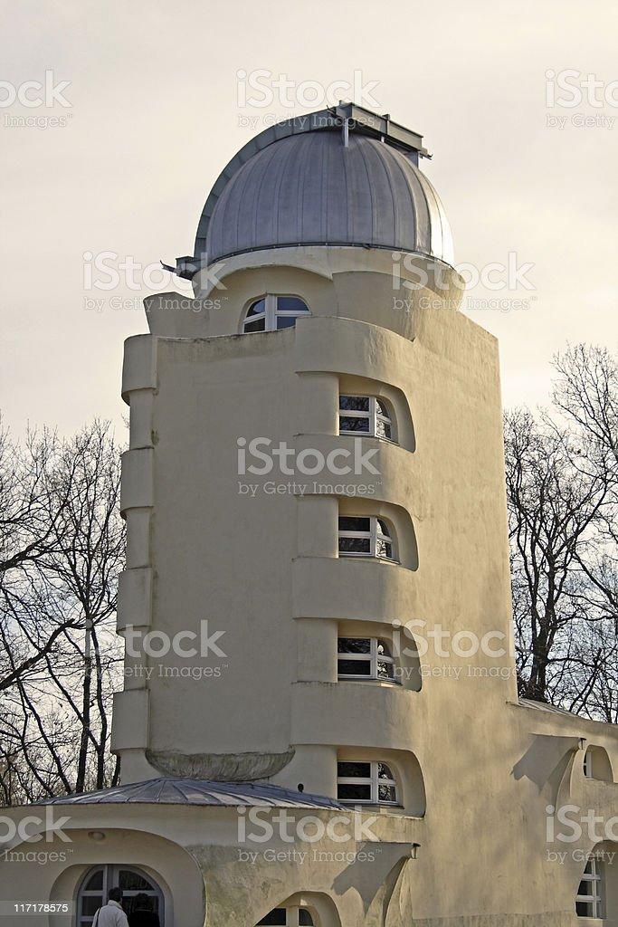 Einstein Tower stock photo