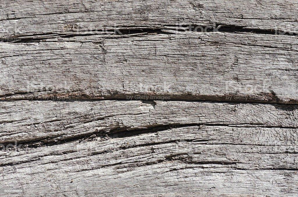 Eisenbahnschwelle aus Holz, Hintergrund stock photo