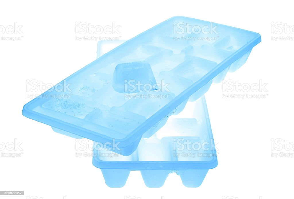 Eiswürfelbereiter stock photo