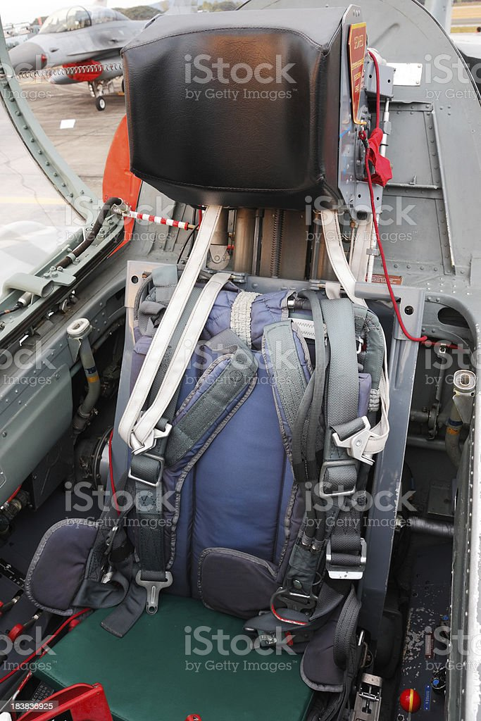 Ejection seat Jet fighter ejection seat Ejector Seat Stock Photo