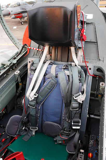Ejection seat stock photo