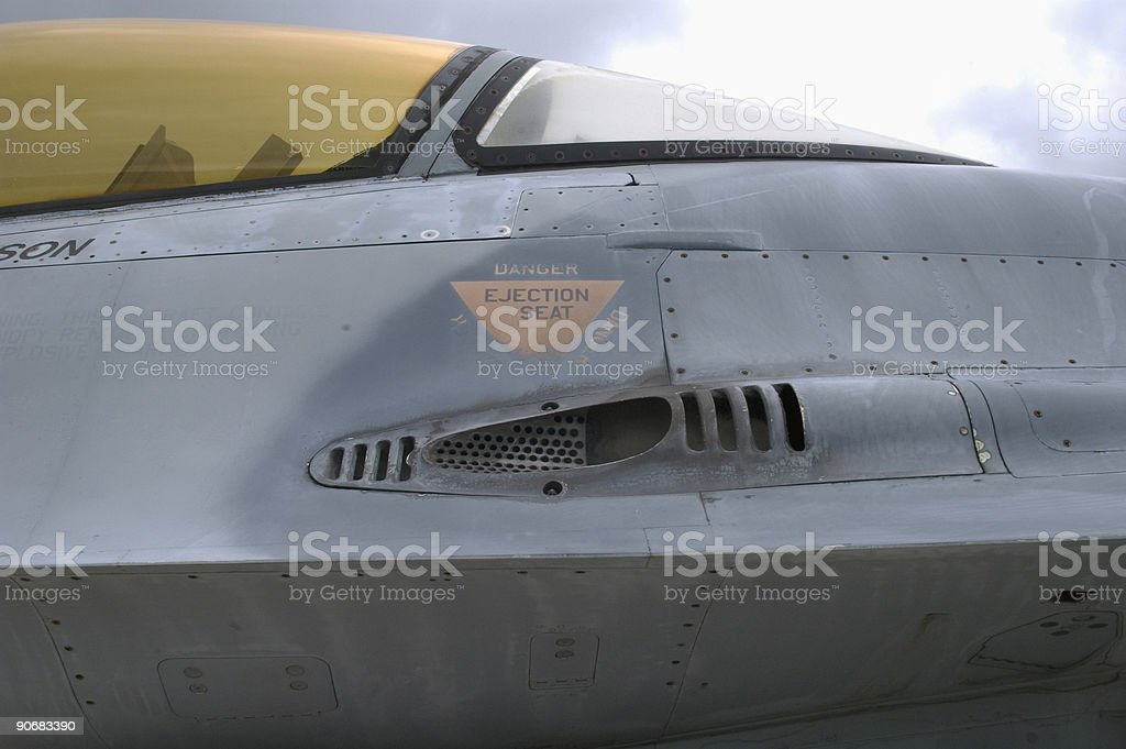 Ejection Seat royalty-free stock photo
