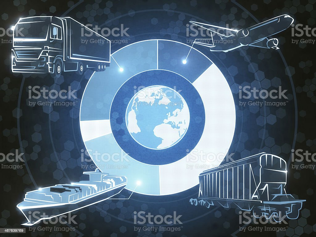 Eksperess Shipping stock photo