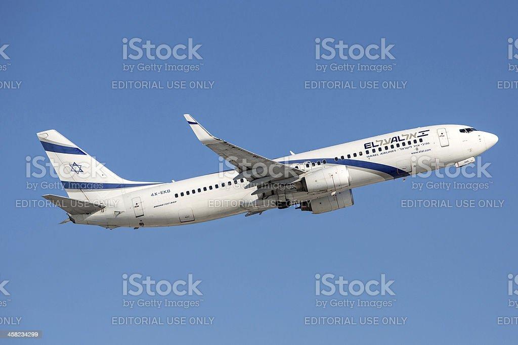 El Al Israel Airlines Boeing 737