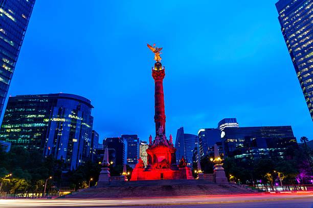 El Angel de la Independencia stock photo