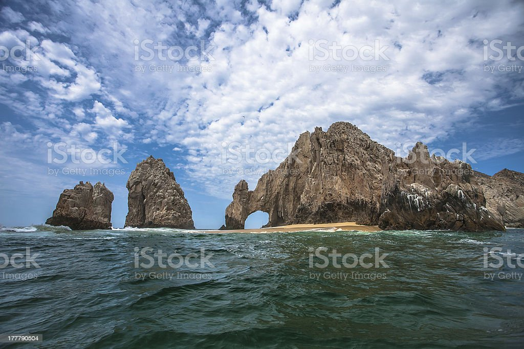 El Arco, Cabo San Lucas, Mexico from a Water Taxi stock photo