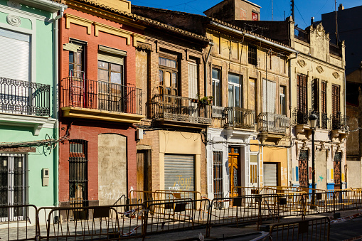 El Cabanyal, Valencia, Spain: old fishing village
