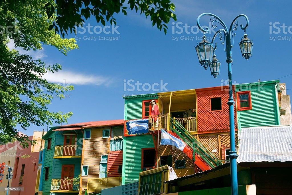 El Caminito in La Boca, Buenos Aires, Argentina royalty-free stock photo