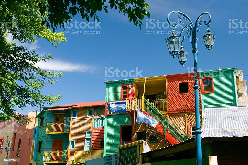 El Caminito in La Boca, Buenos Aires, Argentinien – Foto