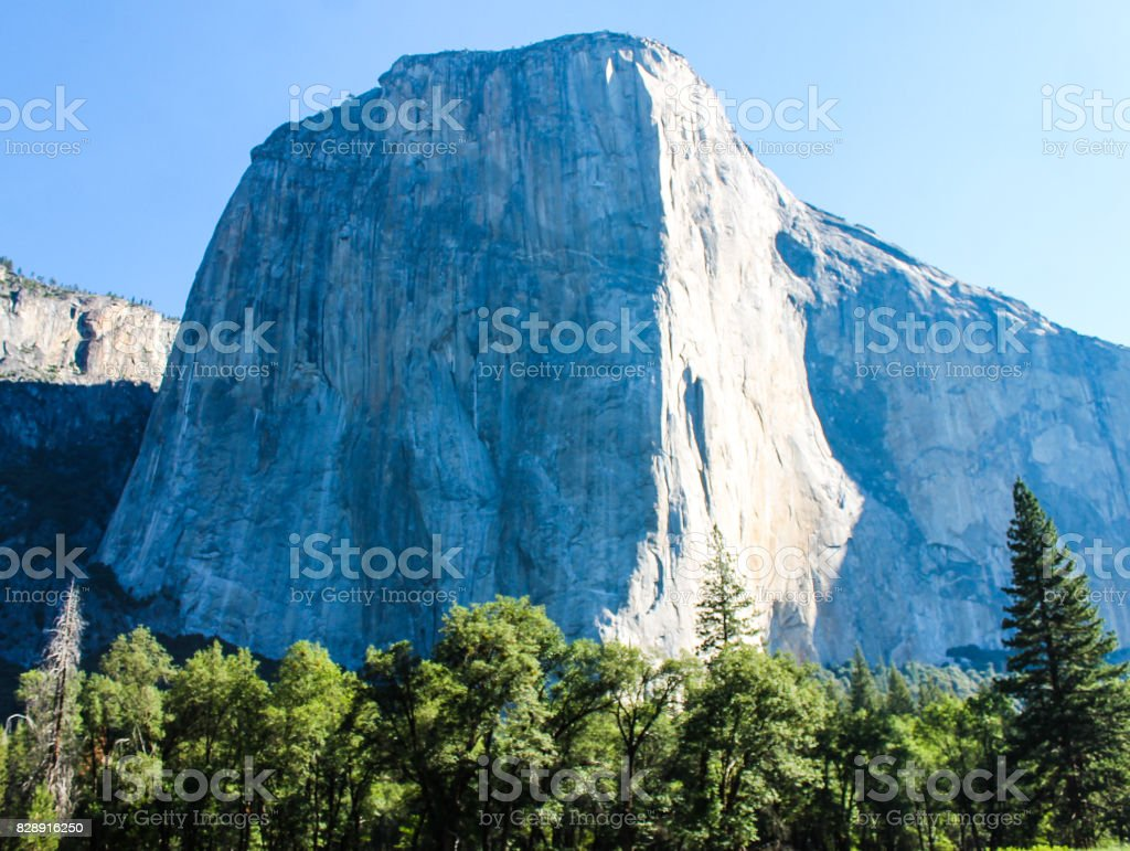 El Capital of Yosemite stock photo