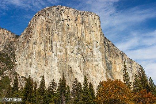 Yosemite National Park Valley, USA.