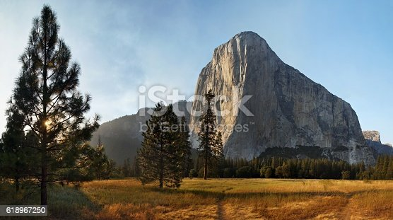 El Capitan - Yosemite voley California USA