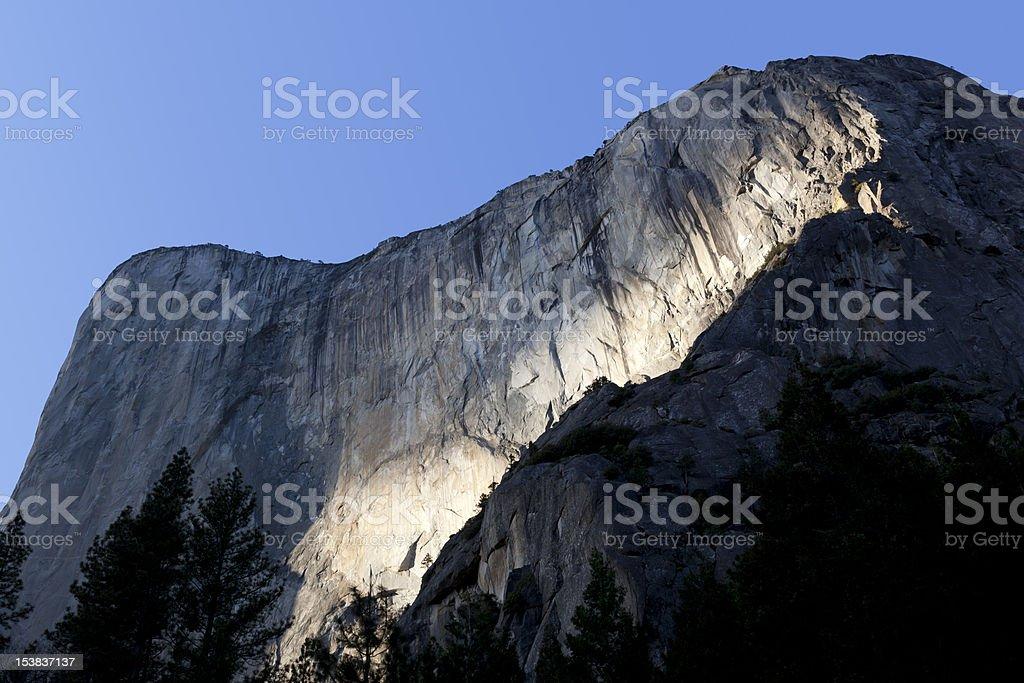El Capitan, Yosemite Valley royalty-free stock photo