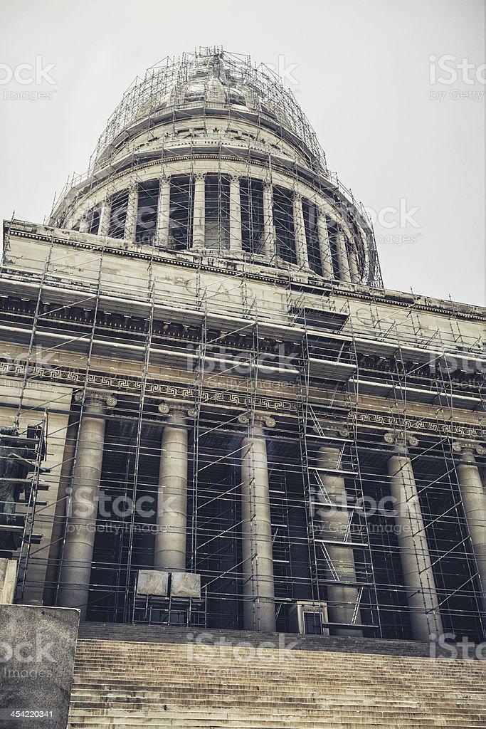 El Capitolio in Havana, Cuba royalty-free stock photo