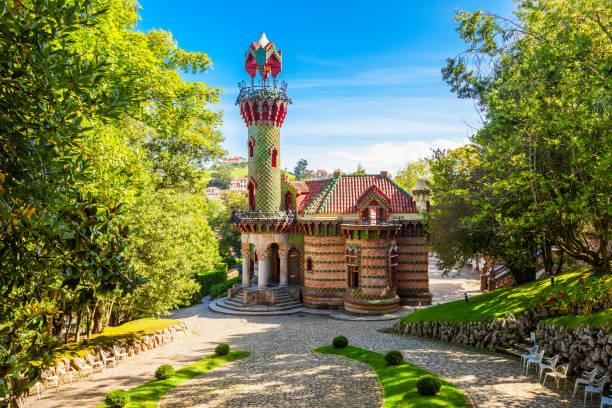El Capricho in Comillas, Spain El Capricho is a building, designed by Antoni Gaudi, located in in Comillas in Cantabria region of Spain cantabria stock pictures, royalty-free photos & images