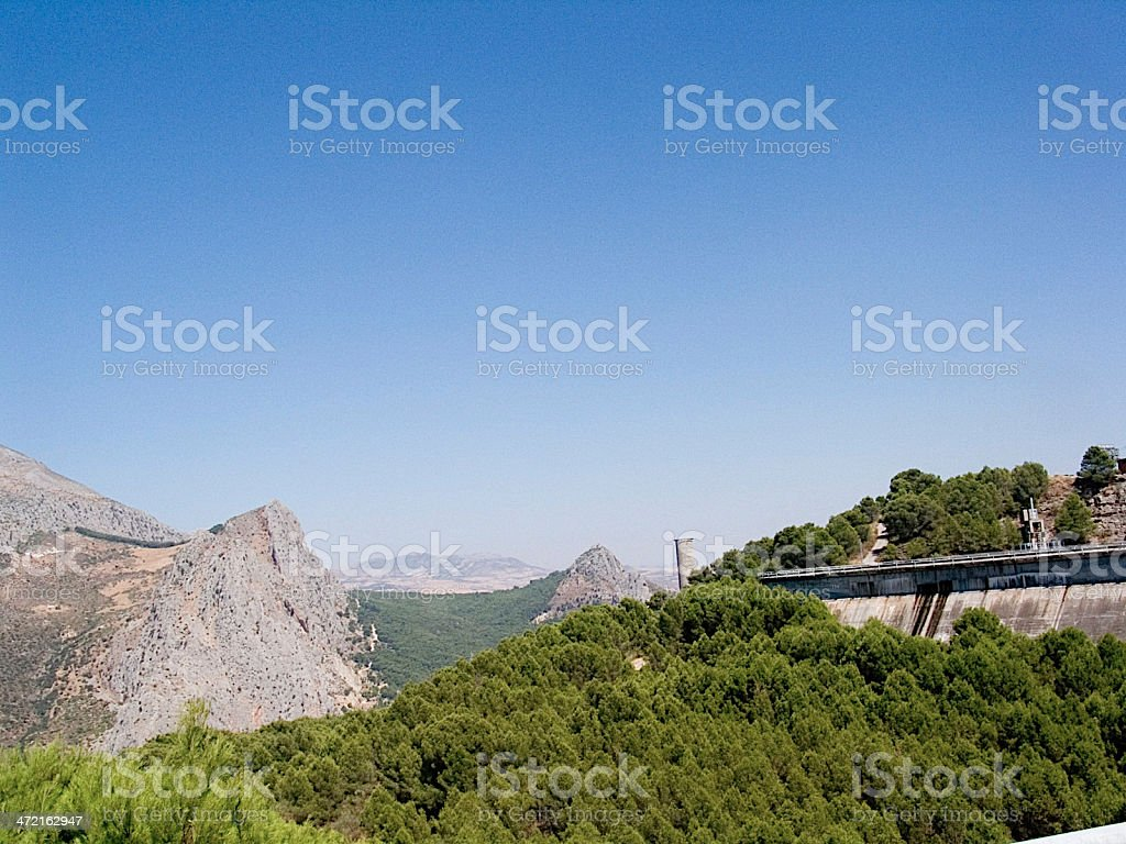 El Chorro Spain royalty-free stock photo