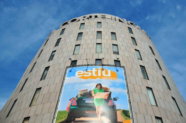 49cff422ed El Corte Ingles Department Store Plaça De Catalunya Barcelona Stock Photo    More Pictures of Advertisement - iStock