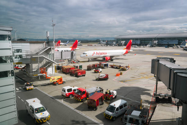 Flughafen El Dorado. Kolumbien – Foto