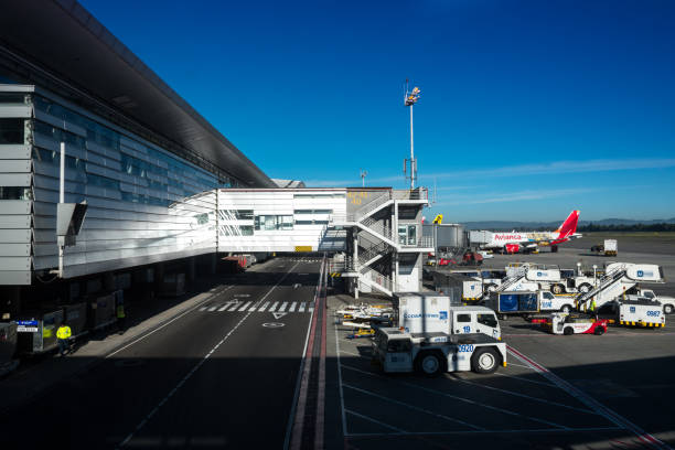 Aeroporto de El Dorado, na cidade de Bogotá - foto de acervo