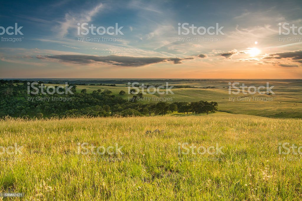 El Dorado Hills stock photo