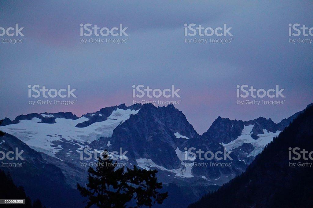 El Dorado Peak stock photo