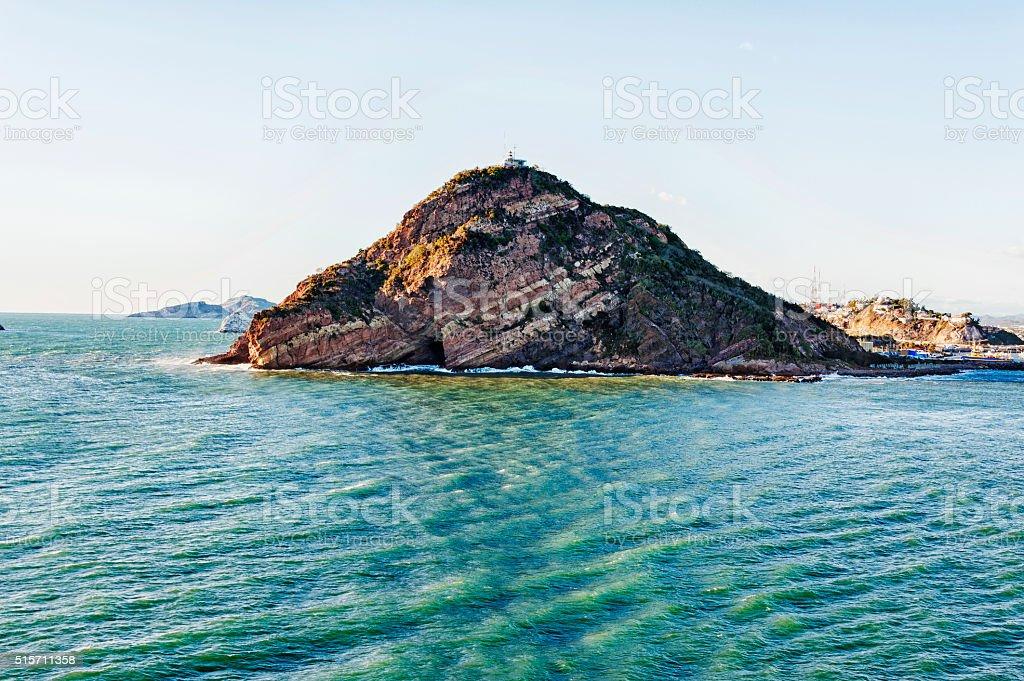 El Faro Lighthouse Mazatlan Mexico stock photo