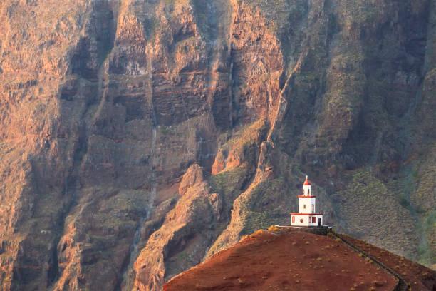 El Hierro, Canary Islands (E): Campanario de Joapira stock photo