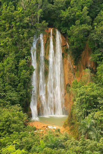 El Limon waterfall, Dominican Republic El Limon waterfall, Dominican Republic limoen stock pictures, royalty-free photos & images