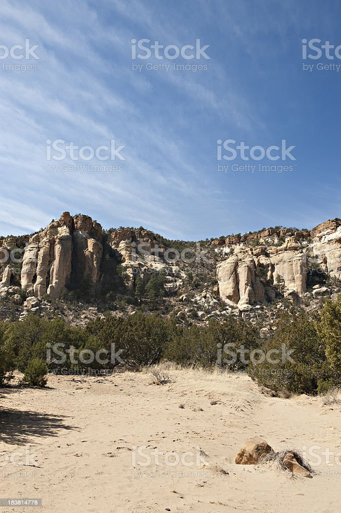 El Malpais, Badlands, National Monument stock photo