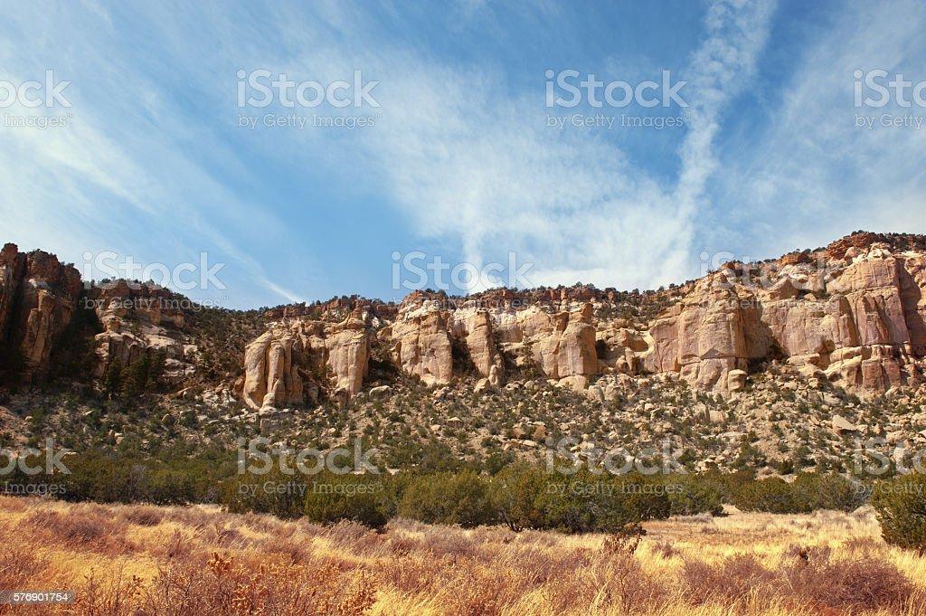 El Malpais National Monument, New Mexico stock photo