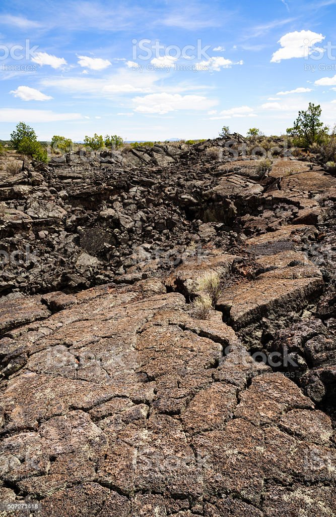 El Malpais National Monument stock photo