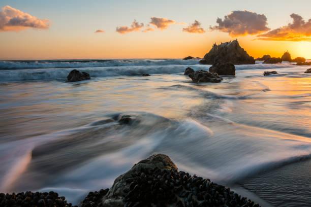 El Matador Beach stock photo