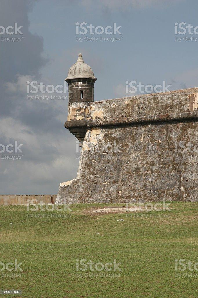 Эль Морро Форт Senty Tower Стоковые фото Стоковая фотография