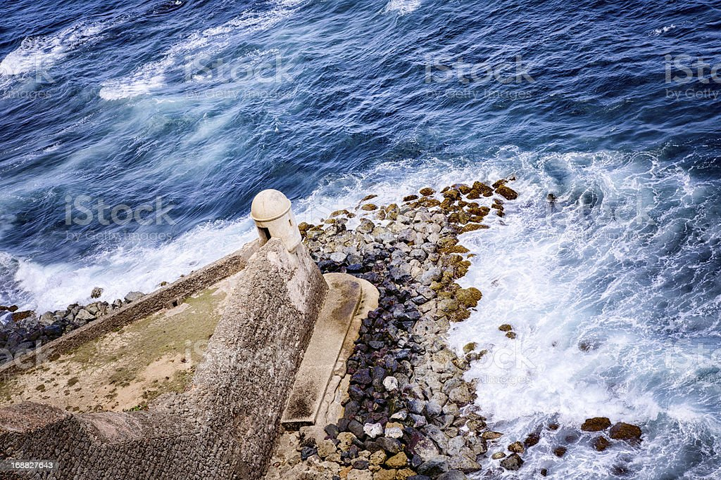 El Morro Fortress, Puerto Rico royalty-free stock photo