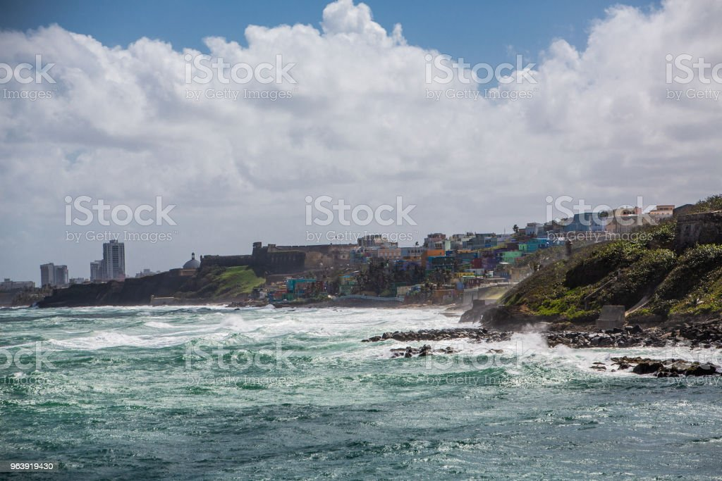 El Morro in Old San Jaun - Royalty-free Architecture Stock Photo