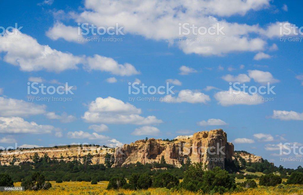 El Morro National Monument - NM stock photo
