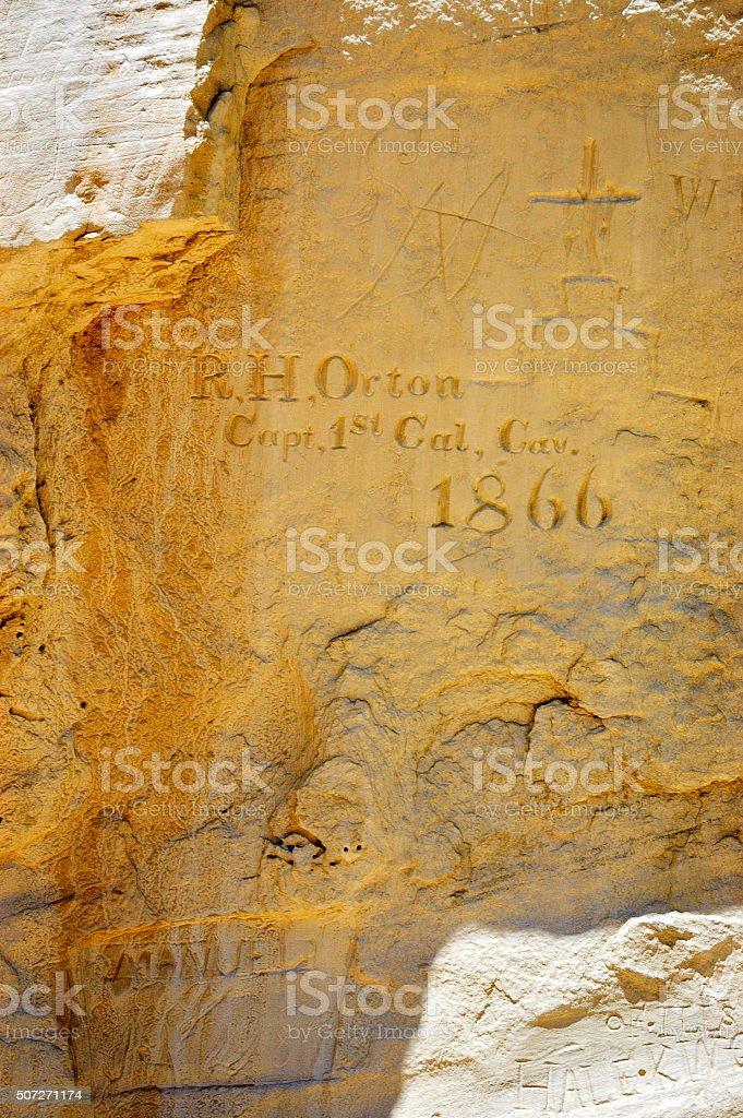 El Morro National Monument stock photo