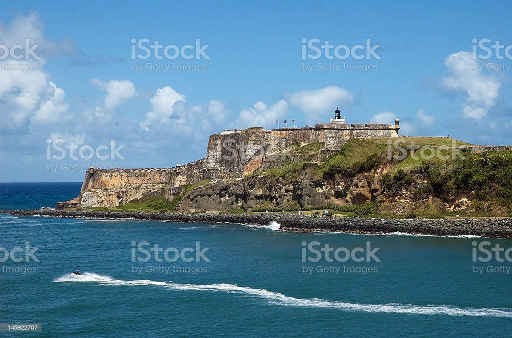 El Morro, San Juan stock photo