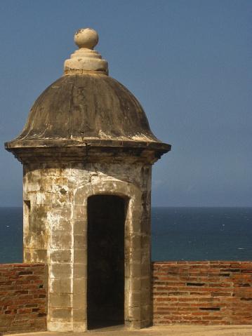El Morro Turret in Old San Juan